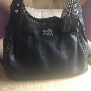 Coach Maggie Pebble Leather Hobo Bag